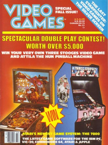 Video Games Issue 21 (June 1984)
