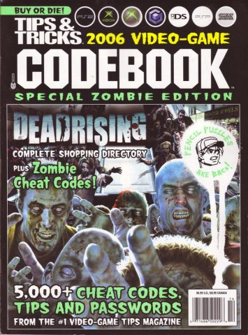 Tips & Tricks 2006 Video-Game Codebook Special Zombie Edition