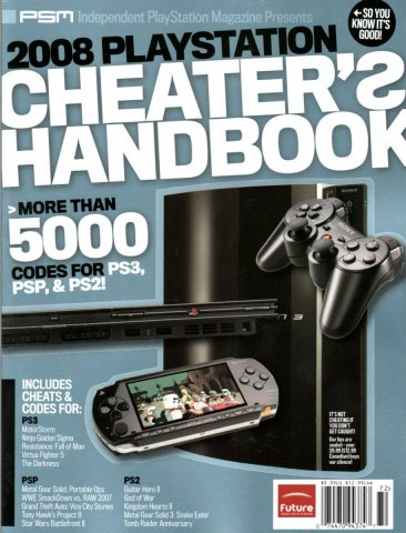 Independent Playstation Magazine Presents 2008 Playstation Cheater's Handbook