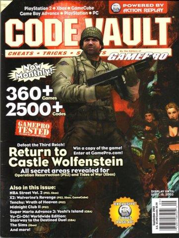 Code Vault Issue 14 September 2003