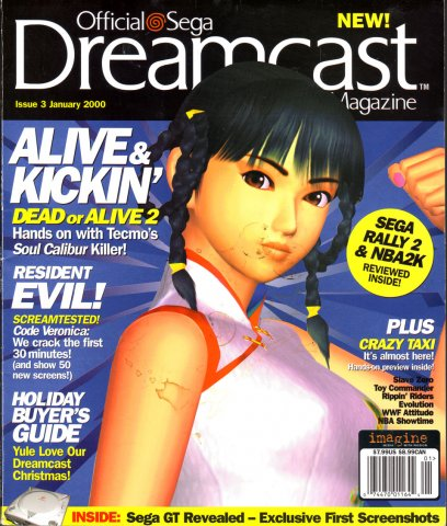 Official Sega Dreamcast Magazine Issue 003 (January 2000)