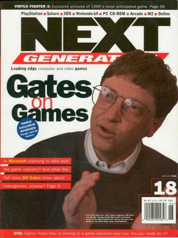 Next Generation Issue 18 June 1996