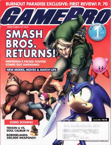 GamePro Issue 233 February 2008