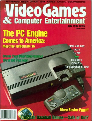 Video Games & Computer Entertainment Issue 06 July 1989