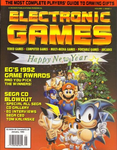 Electronic Games 038 Jan 1993 Vol 1  Issue 004