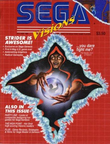 Sega Visions Issue 002 (October/November 1990)