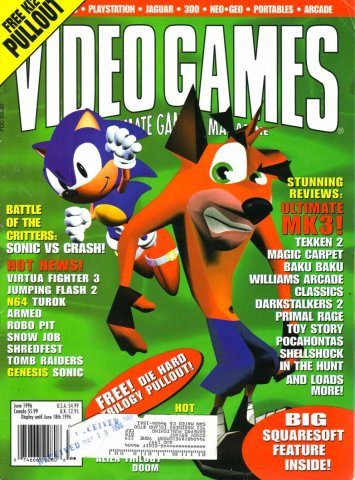 Video Games Issue 89 June 1996