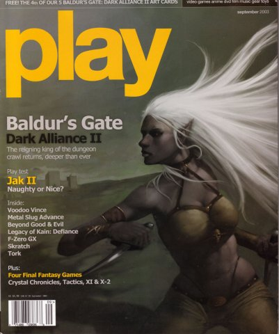 play issue 021 (September 2003)