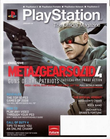 PlayStation The Official Magazine (USA) Issue 002 January 2008
