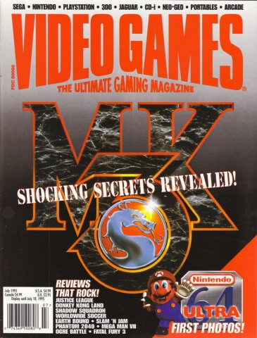 Video Games Issue 78 July 1995