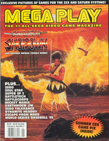 Mega Play Vol.5 No.4 August 1994
