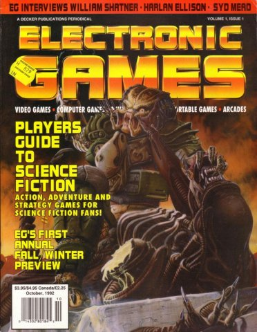 Electronic Games 035 Oct 1992 Vol 1 Issue 001
