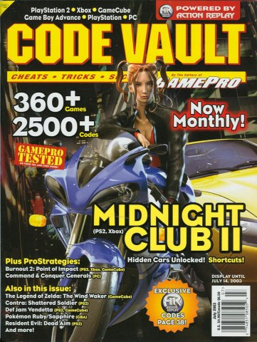 Code Vault Issue 12 July 2003