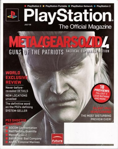 PlayStation The Official Magazine (USA) Issue 008 July 2008