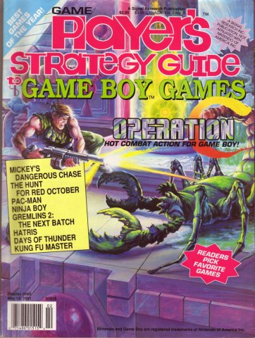 Game Players Strategy Guide to Game Boy Games Volume 2 Issue 2 March/April 1991