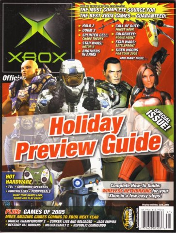 Official xbox issue  2004holidayspecial