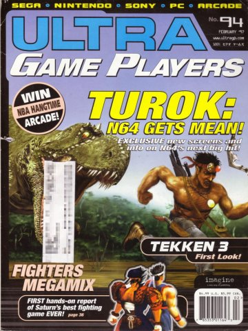 Ultra Game Players Issue 094 (February 1997)