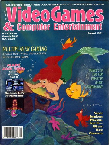 Video Games & Computer Entertainment Issue 31 August 1991