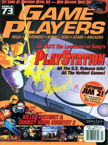 Game Players Issue 073 July 1995