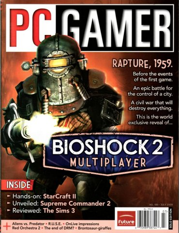 PC Gamer Issue 189 August 2009