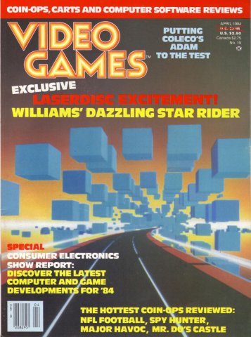 Video Games Issue 19 (April 1984)