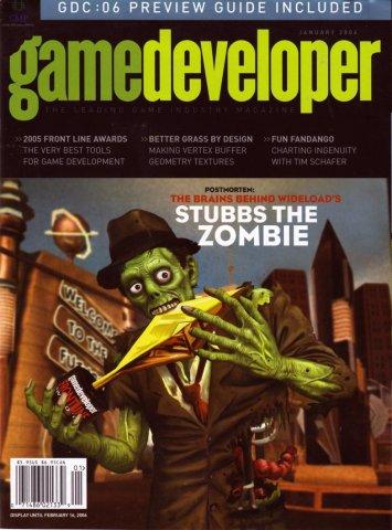 Game Developer 120 Jan 2006