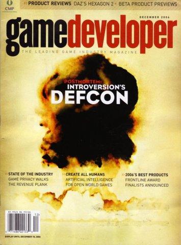 Game Developer 130 Dec 2006