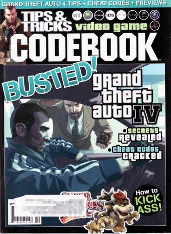 Tips & Tricks Video Game Codebook September-October 2008
