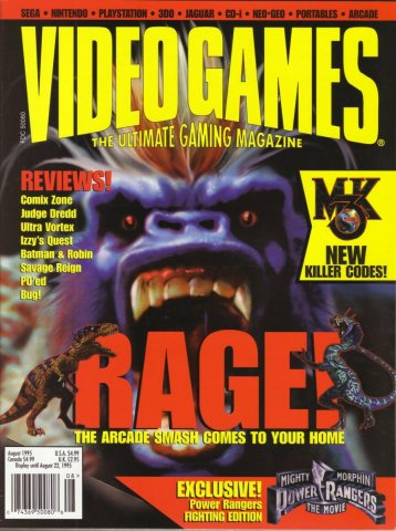 Video Games Issue 79 August 1995