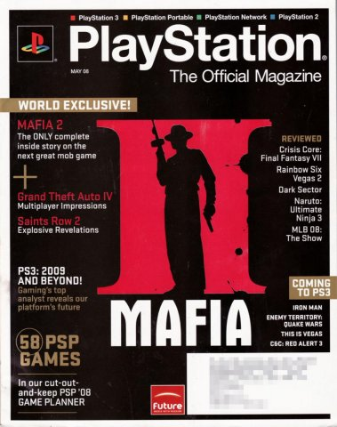 PlayStation The Official Magazine (USA) Issue 006 May 2008