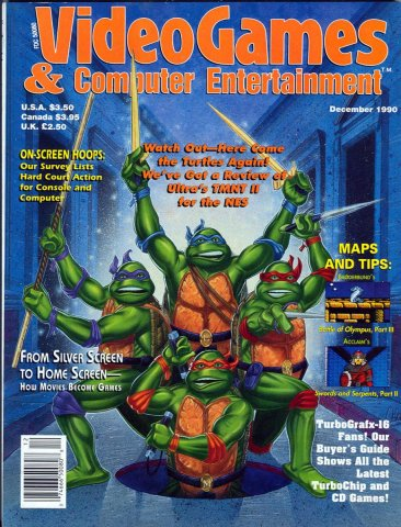 Video Games & Computer Entertainment Issue 23 December 1990