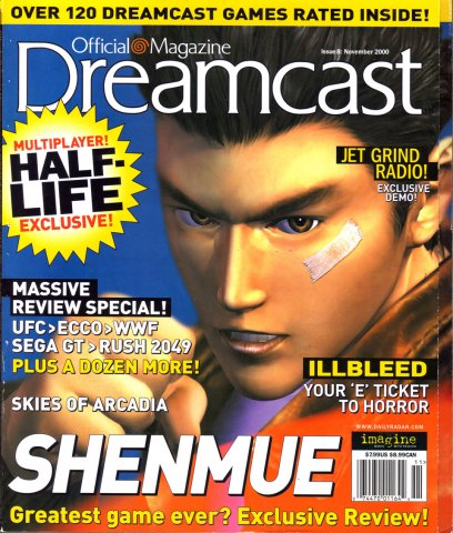 Official Sega Dreamcast Magazine Issue 008 (November 2000)