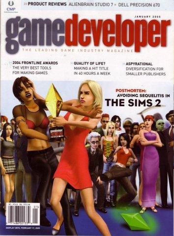 Game Developer 109 Jan 2005