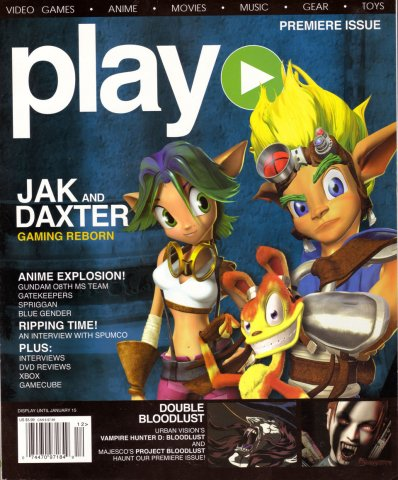 play Issue 001 (December 2001)