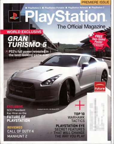 PlayStation The Official Magazine (USA) Issue 001 Holiday 2007