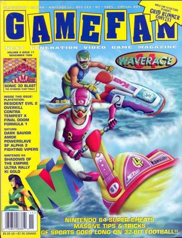 Gamefan Issue 47 November 1996 (Volume 4 Issue 11)