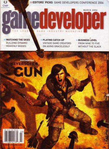 Game Developer 122 Mar 2006