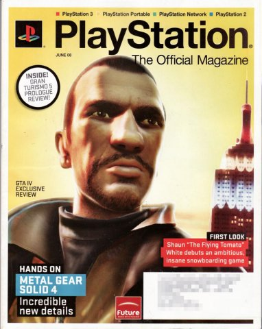 PlayStation The Official Magazine (USA) Issue 007 June 2008