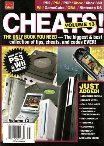 Cheats! Volume 13