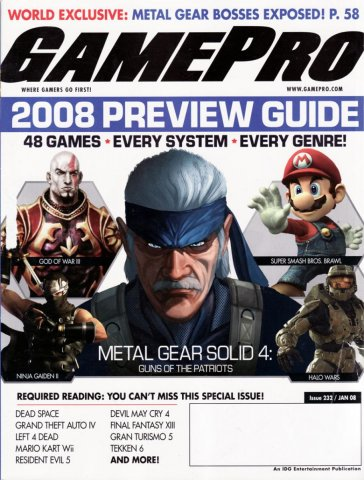GamePro Issue 232 January 2008