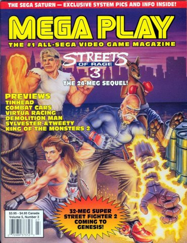 Mega Play Vol.5 No.3 July 1994