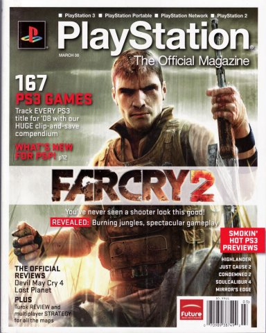PlayStation The Official Magazine (USA) Issue 004 March 2008