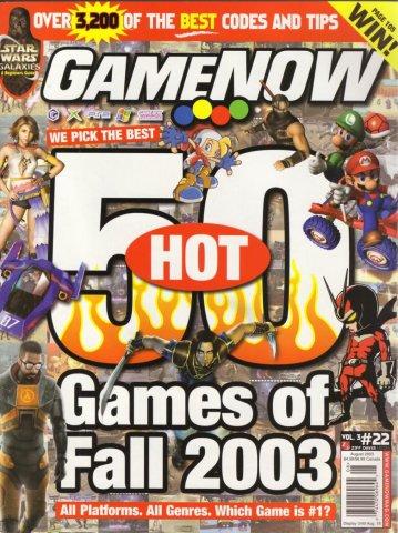 GameNOW Issue 22 August 2003