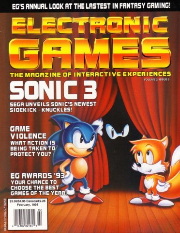 Electronic Games 051 Feb 1994 Vol 2 Issue 005
