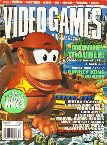 Video Games Issue 83 December 1995