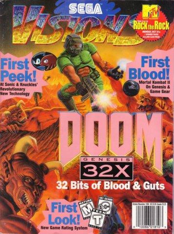Sega Visions Issue 021 (October/November 1994)