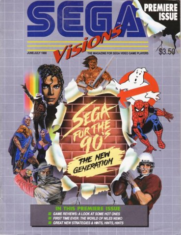 Sega Visions Issue 001 (June/July 1990)