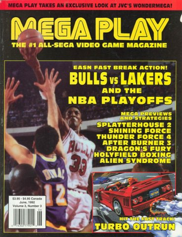 Mega Play Vol.3 No.3 May/June 1992