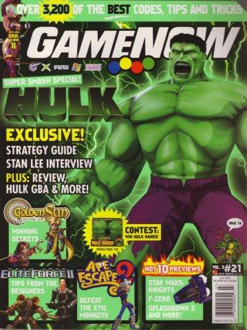 GameNOW Issue 21 July 2003