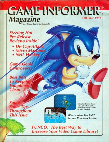 Game Informer Issue 001 Fall 1991